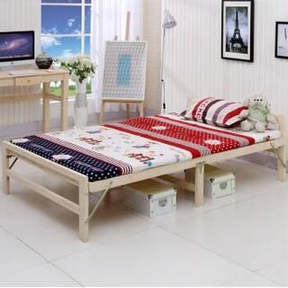 彭友家私  PY-ZD12 实木折叠床 1.2米宽 *3件