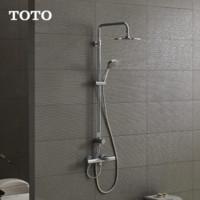 18日0点截止:TOTO 东陶 TBW01S05B TBV01402 铜质恒温淋浴花洒套餐