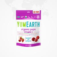 88VIP:YumEarth 牙米滋 VC水果味棒棒糖果 40支