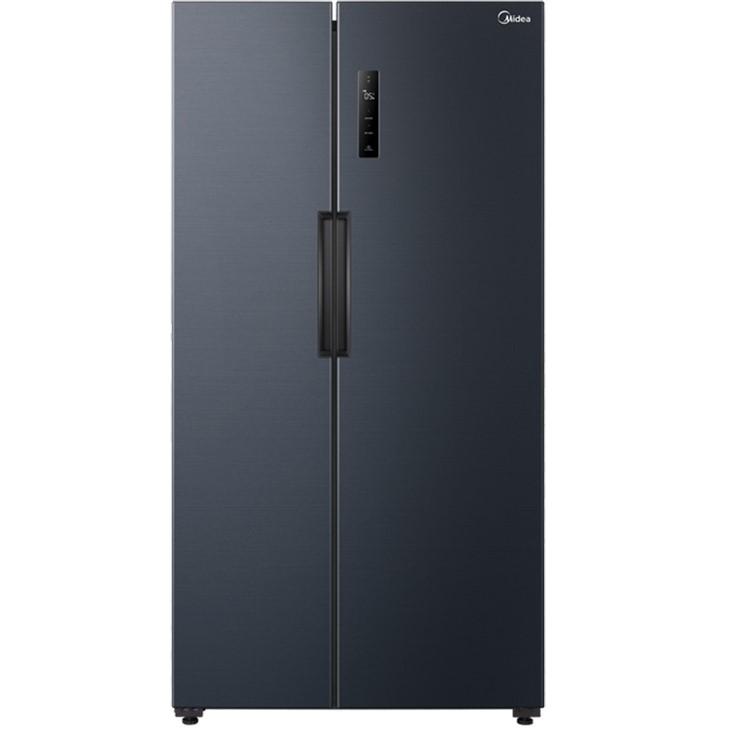 美的(Midea)545升 双开对开门冰箱 19分钟急速净味 节能变频 一级能效大容量 BCD-545WKPZM(E)