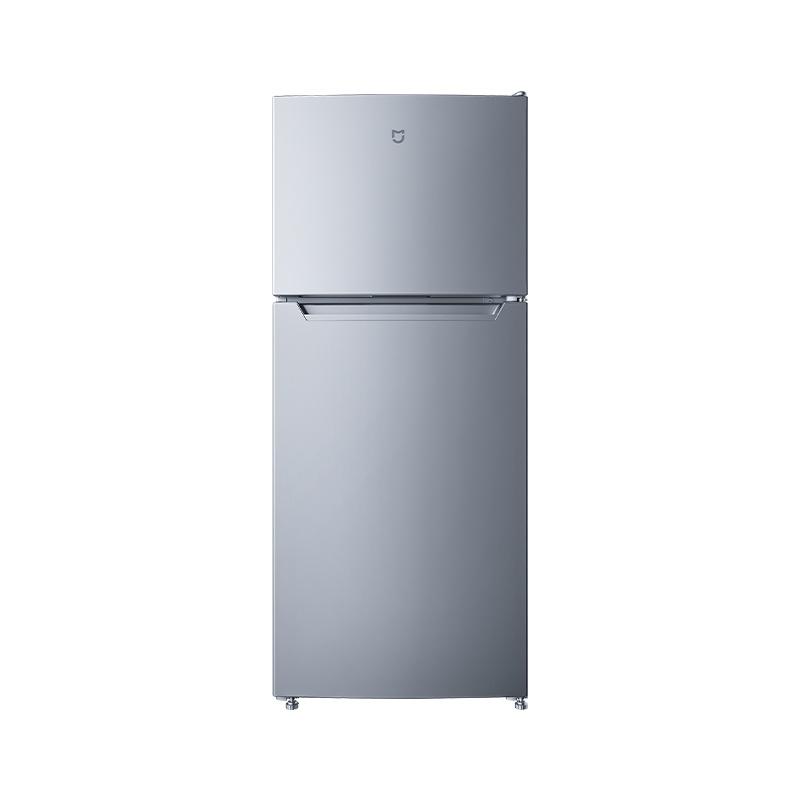 MIJIA 米家 BCD-118MDMJ03 双门迷你冰箱 118L 银色