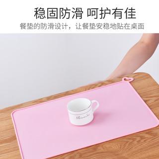 宝宝硅胶餐垫儿童一年级小学生餐桌垫防水防油折叠吃饭用餐午餐布