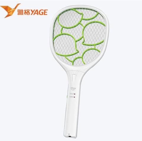 YAGE 雅格 雅格电蚊拍充电式家用超强灭蚊灯器二合一锂电池强力打蚊子苍蝇拍