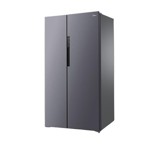 美的(Midea)606升 双变频风冷对开双门冰箱一级能效智能冰箱独立风冷大容积节能家电BCD-606WKPZM(E)