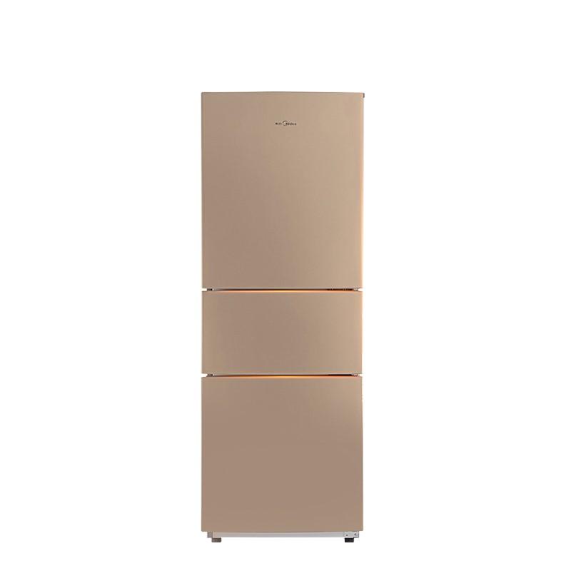 Midea 美的 BCD-213TM(E) 直冷三门冰箱 213L 阳光米