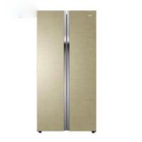 Haier 海尔 BCD-618WDGTU1 变频风冷对开门冰箱 618L 画沙卡其金