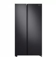 SAMSUNG 三星 655升双开门冰箱 大容量对开门电冰箱 全环绕气流 风冷无霜变频RS62R5007B4/SC 黑