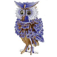 移动专享:OLOEY 木制3D立体拼图  猫头鹰 142片