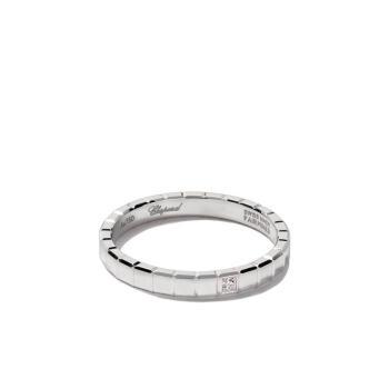 萧邦(CHOPARD) 礼物 女士 18k白金Ice Cube钻石戒指
