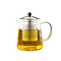 艾芳贝儿(AlfunBel) 高硼硅耐热玻璃鸭嘴不锈钢茶滤泡花茶壶加厚电陶炉适用泡茶壶 950ML壶C-85-16