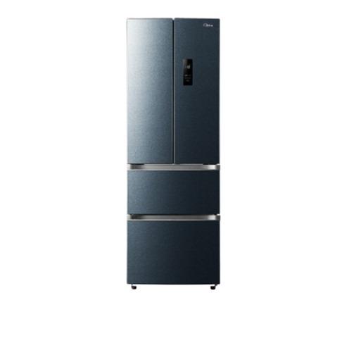 美的(Midea)321升 多门法式四门双开门家用电冰箱冷冻冷藏双变频一级能效风冷无霜节能BCD-321WFPM(E)