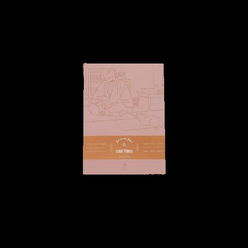 上海译文出版社 七海之星特供信笺 夏目漱石款 130*184mm 粉色