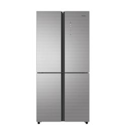 海尔(Haier)462升变频无霜大冷冻多门冰箱  彩晶面板智能杀菌BCD-462WDCI圣多斯银