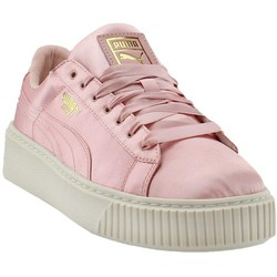 PUMA/彪马 Basket Platform Satin运动鞋 *2件