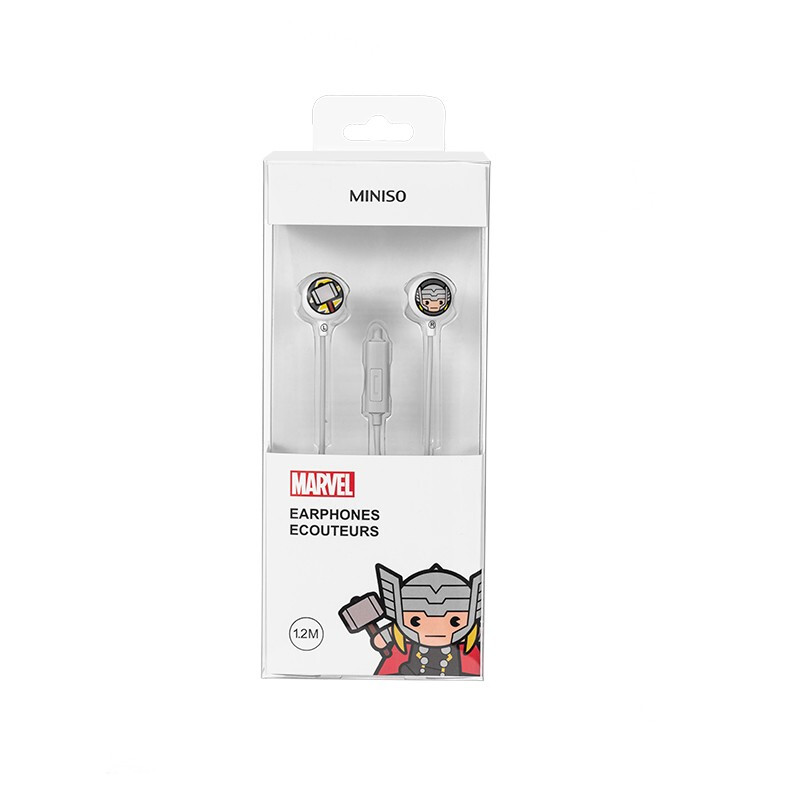 MINISO 名创优品 TSD-MOL 漫威卡通入耳式耳机  雷神