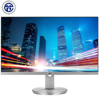 AOC 23.8英寸 AH-IPS硬屏 1.5mm窄边框 低蓝光爱眼不闪屏 电脑显示器(HDMI版) I2490VXH/BS