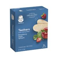Gerber 嘉宝 草莓苹果磨牙米饼 48g *8件