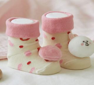 LINE FRIENDS INFANT系列 婴儿柔软玩偶鞋袜