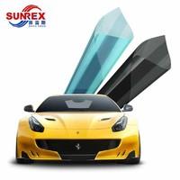 SUNREX 賽雷斯 藍色+高隱 樂景系列 汽車全車貼膜