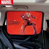 正版漫威钢铁侠磁吸式汽车窗帘遮阳帘 正驾单个装 *5件+凑单品