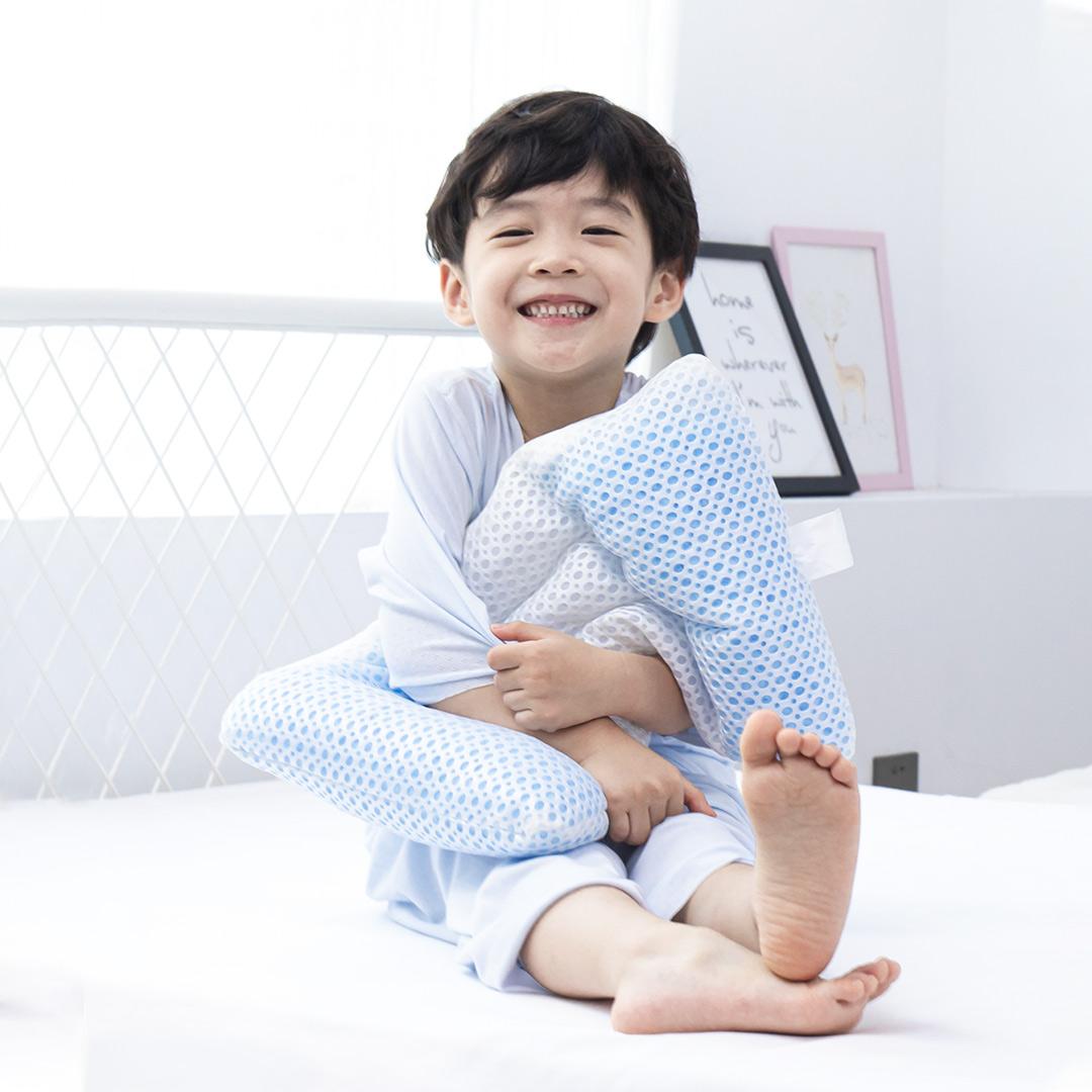 Letsleep 绘睡 儿童可调软管枕 白色 44*27*6cm