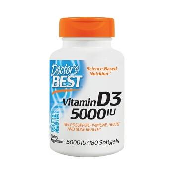 Doctor's best 维生素D3 180粒 *2件