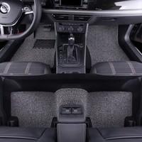 牧斯 加厚絲圈汽車腳墊 特斯拉model3專用 黑灰色