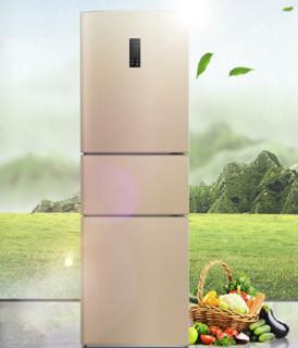 Electrolux 伊莱克斯 EME2502TD 三门冰箱 255升 质感金