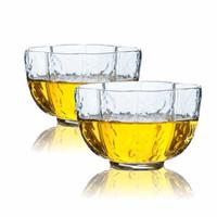 日式金边锤纹品茗杯小茶杯 樱花款品杯(两只装)