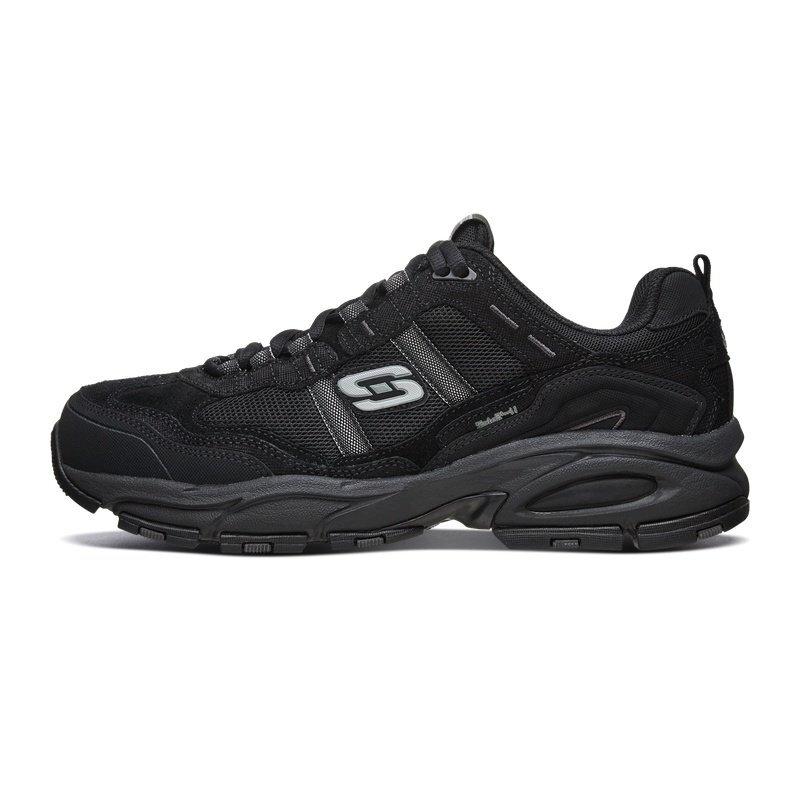 SKECHERS 斯凯奇 51241 男士运动鞋 全黑色/BBK 41