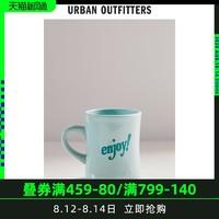 潮牌复古马克杯Urban Outfitters时尚畅饮10盎司家居ins风水杯