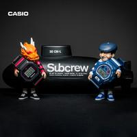 casio 卡西欧 G-SHOCK×SUBCREW×CAB 三方联名款手表