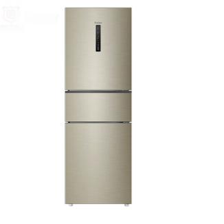 海尔 (Haier)252升风冷无霜三门冰箱中门全温区变温DEO净味系统 环保材质 BCD-252WXPS