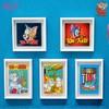 soapstudio 猫和老鼠 美术馆系列磁贴画迷你艺术画盲盒
