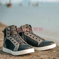 赛羽骑行鞋男摩托车短靴新款夏季透气机车鞋