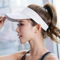 珊诗丽男士帽子女士情侣帽子 夏季新款速干太阳帽户外旅游遮阳空顶帽速干帽可定制