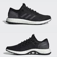 adidas 阿迪达斯 PureBOOST 2.0 男子跑步鞋+袜子 3双装