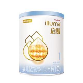 Wyeth 惠氏 启赋系列 婴幼儿配方奶粉 1段 400g