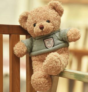 蔷薇之恋 泰迪熊毛绒公仔 30厘米