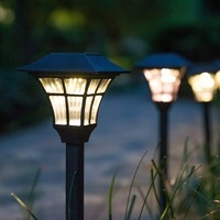 HANWEN 翰文 太阳能暖光户外草坪灯 1个装