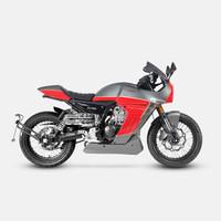 Pagani150 摩托車 宗申 復古街車 ABS 紅色 全款