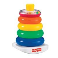 Fisher Price 费雪彩虹套圈 宝宝益智玩具 N8248 *2件 +凑单品