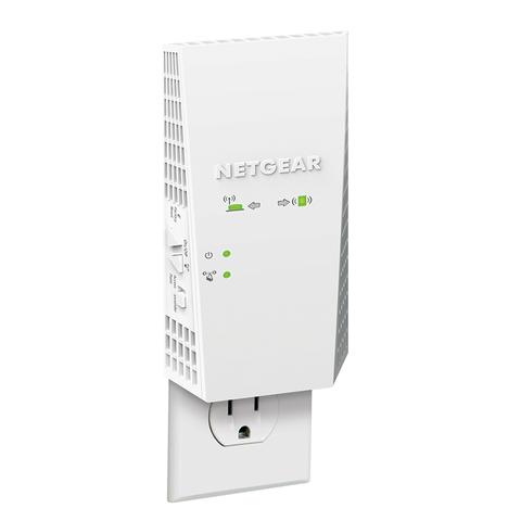 NETGEAR美国网件扩展器EX6500 AC1900M双频无线WiFi信号扩大器 千兆端口家用5G信号放大器增强器中继器