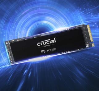 crucial 英睿达 M.2接口 500GB SSD固态硬盘 CT500P5SSD8
