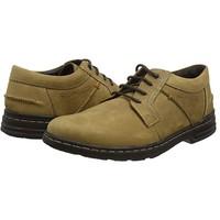 Hush Puppies 暇步士 Barnet Hanston 男士休闲皮鞋 棕色 44.5