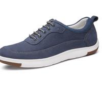 金利来(goldlion)男鞋透气舒适休闲鞋户外运动皮鞋920811020RQA 蓝色 37
