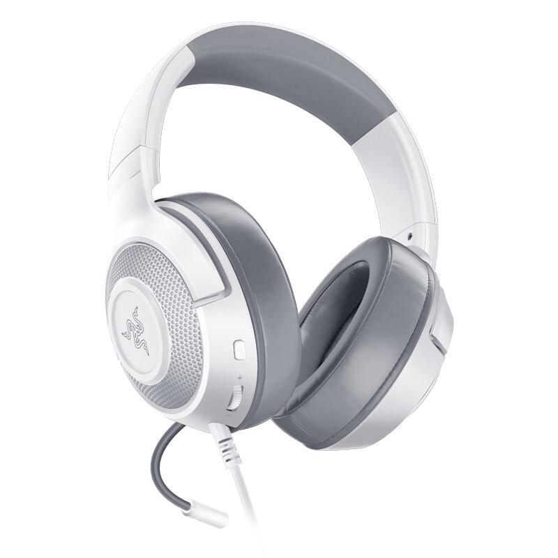 1日0点 : Razer 雷蛇 北海巨妖标准版X 头戴式游戏耳机 水银