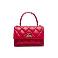 Balenciaga Sharp XS Satchel 女士小牛皮红色斜挎包