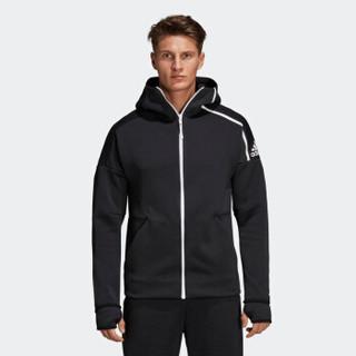 adidas 阿迪达斯 DM5543 男士针织夹克+FM3337 男子T恤