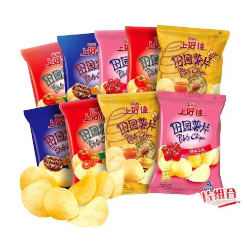 Oishi 上好佳 薯片零食礼包 40g*9包
